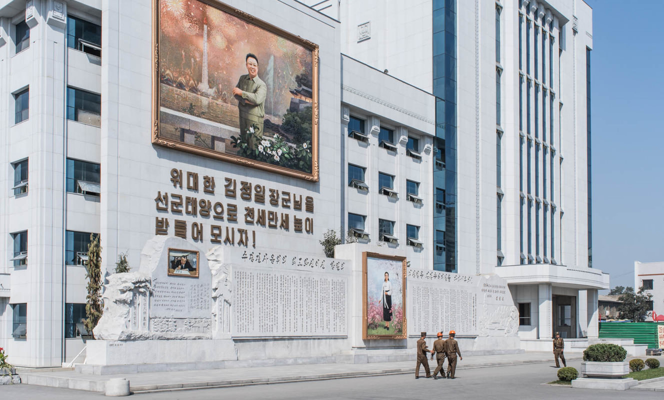 Large mansudae art studio pyongyang north korea
