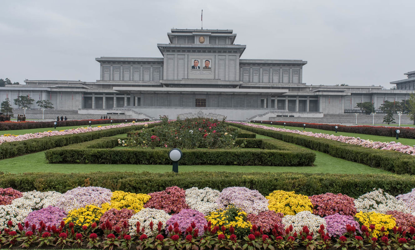 Large kumsusan palace of the sun north korea pyongyang