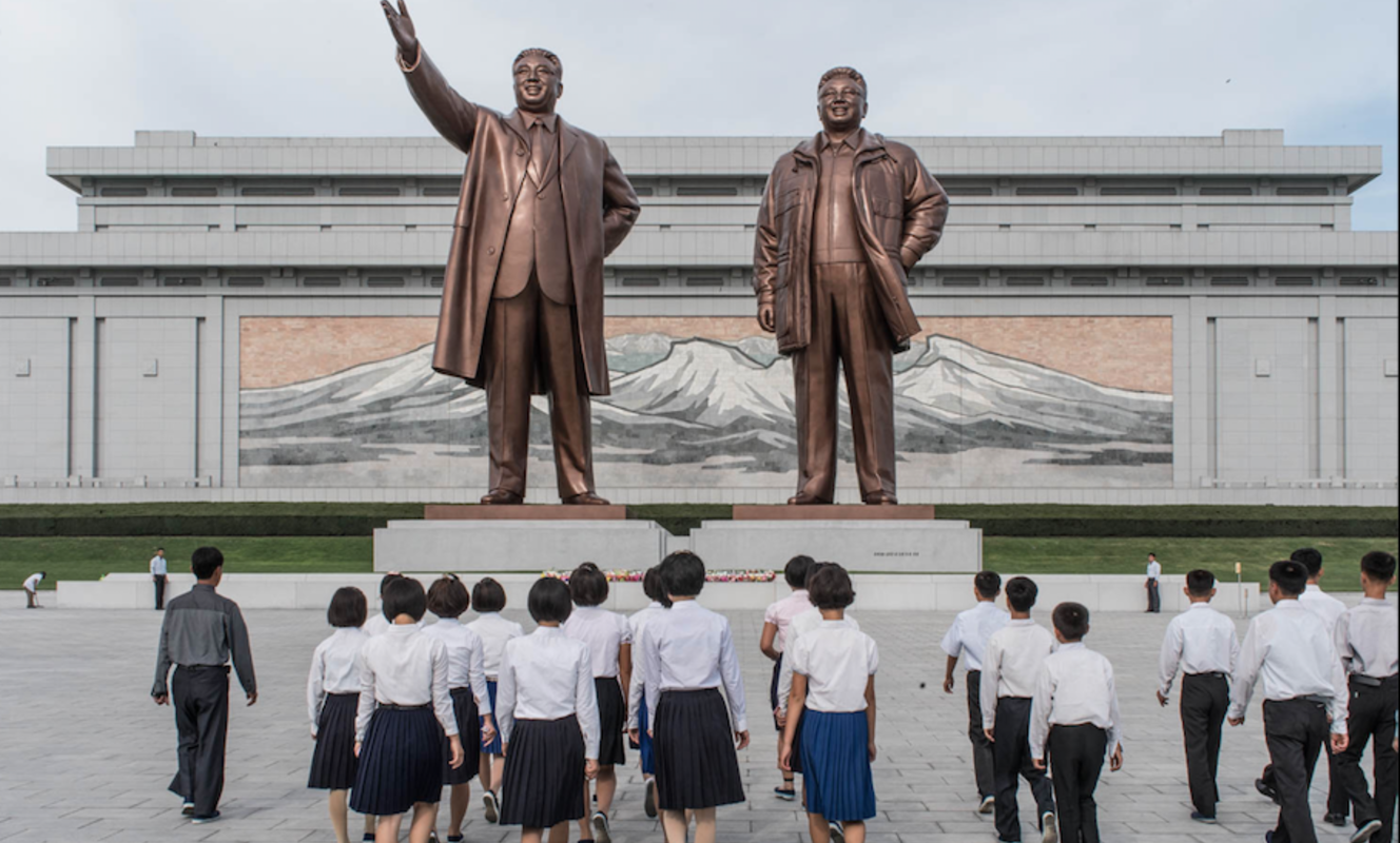 Large pyongyang mansudae grand monument