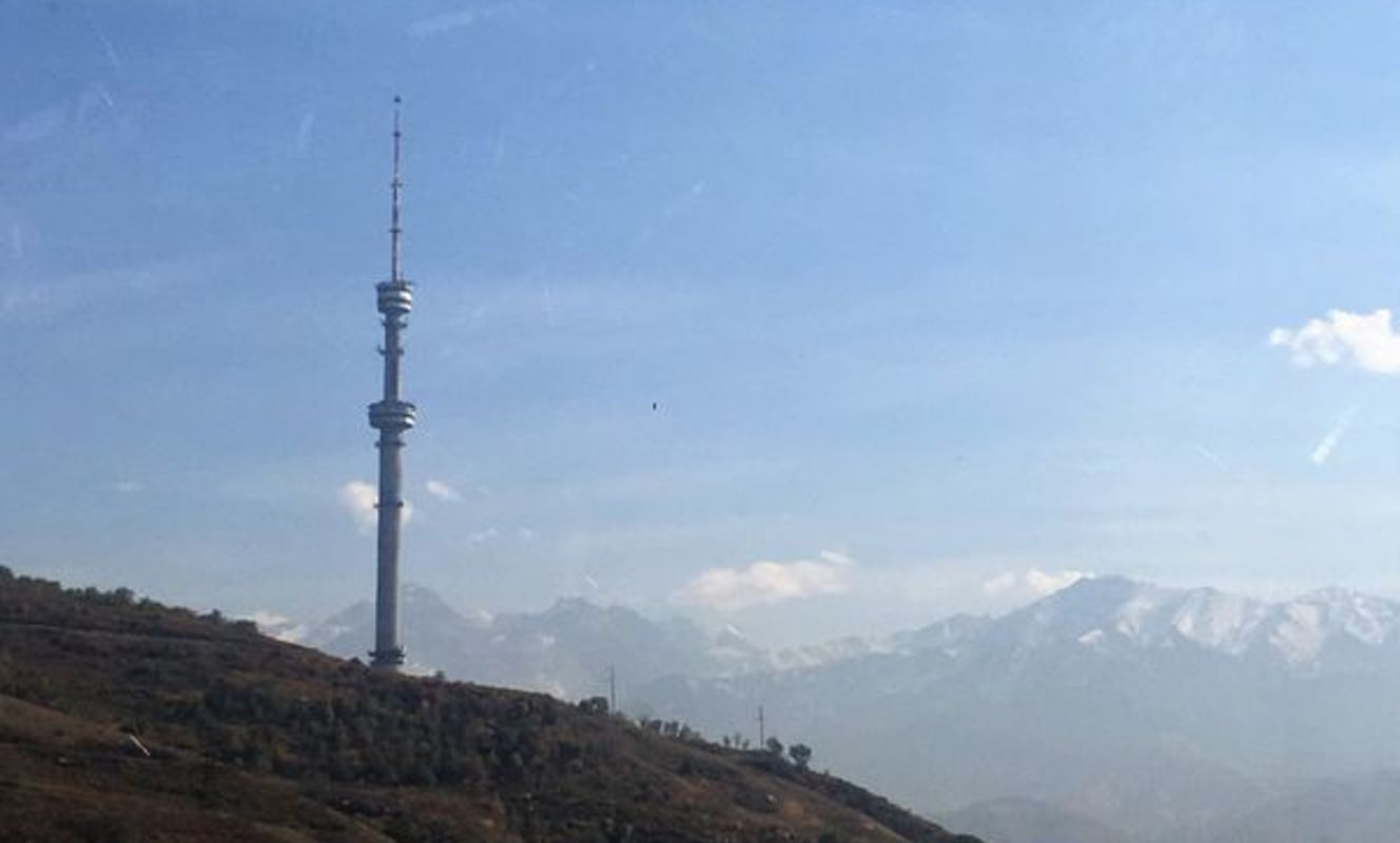 Large tn almaty kazakhstan tv tower