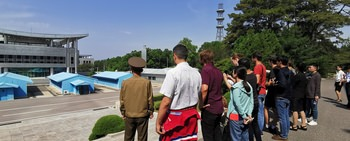 Large koryo tours dmz north korea