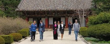 Large koryo tours mt myohyang north korea